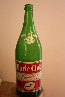 Heavy Old Hazle Club green bottle