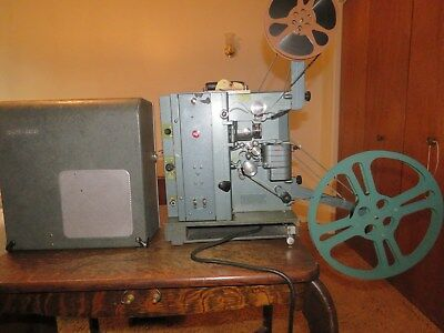 RCA Model 400 16mm Film Projector w/ Original Case in Good Working Condition