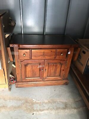 China Cabinet W Glass Doors Dining Room Furniture Hutch Buffet 2 Piece