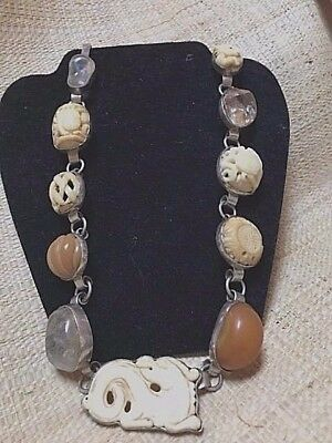 Rebecca Collins Asian Cabochon Necklace--Make Offer, Must Sell