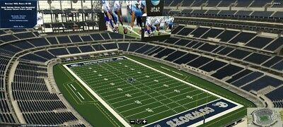 2 Tickets New York Giants At Dallas Cowboys 9/16/2018