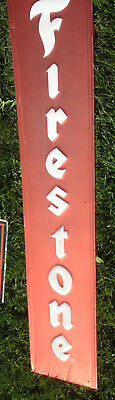 Collectible Vertical Firestone Sign