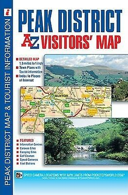 Peak District Visitors Map by Geographers' A-Z Map Company (Sheet map,...