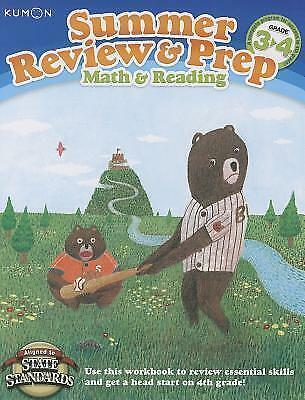 Summer Review & Prep Workbooks 3-4 by Kumon (Paperback, 2012)