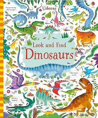 Look and Find Dinosaurs by Kirsteen Robson (Hardback, 2017)