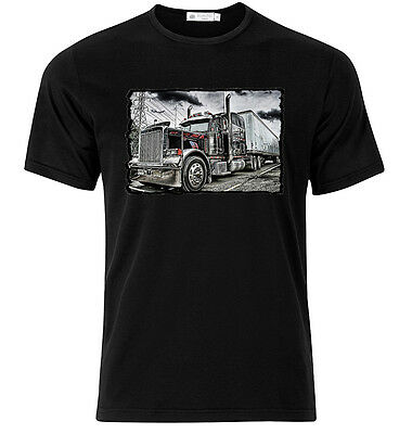 Peterbilt IV - Graphic Cotton T Shirt Short & Long Sleeve