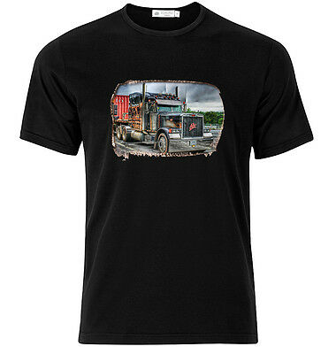 Peterbilt II - Graphic Cotton T Shirt Short & Long Sleeve