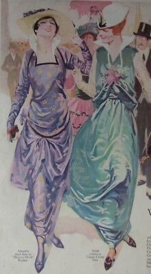1915 Pictorial Review Fashion Pattern Book* Gowns Lingerie Dresses Suits Blouses