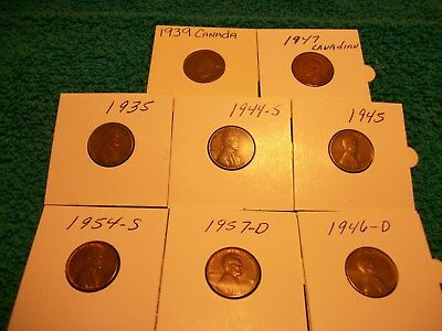 Mixed Lot of Us Coins and Canadain Coins