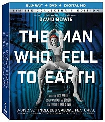 Man Who Fell To Earth (Blu-Ray + DVD + Digital HD) New, Free shipping