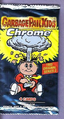 2014 Garbage Pail Kids Chrome Series 2 Hobby Pack from Box!
