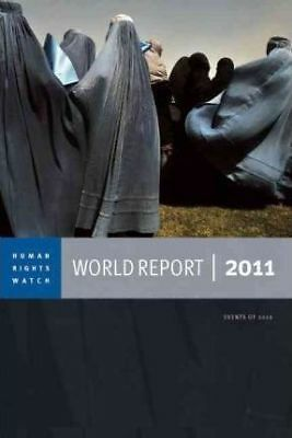 2011 Human Rights Watch World Report by Seven Stories Press,U.S. (Paperback,...
