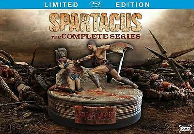 Spartacus Complete Series Limited Edition[Blu-ray]with figure, New free ship