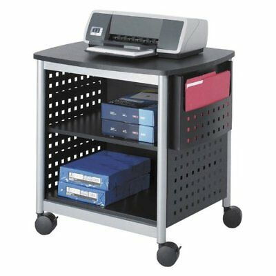 "Safco Scoot Printer Stand - 1 X Shelf[ves] - 26.5"" Height X 26.5"" Width (1856bl)"