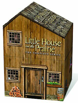 Little House on the Prairie Complete Series Deluxe Remastered House Packaging