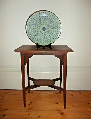 Shaker Style Occasional Table.Solid Timber Antique Vintage.Divine Proportions.