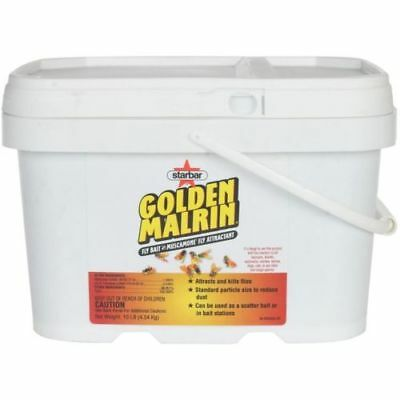 Golden Gold Malrin Muscamone Fly Bait Attractant in a 10 LB Bucket 7 Bucks a LB!