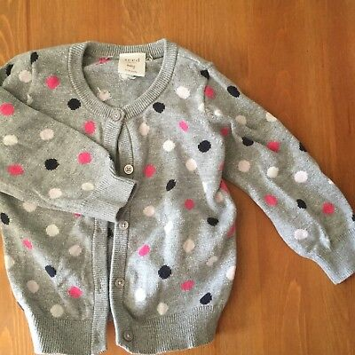 Seed Baby Girl Cardigan 12-18 Months
