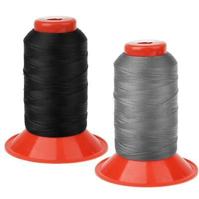 2Pcs Extra Strong Upholstery Thread Bonded Nylon Sewing Spools 500 Meters