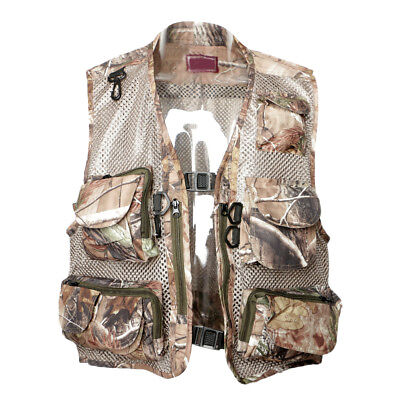 48f47215a5ed5 Outdoor Fishing Vest Mesh Breathable Jacket for Fishing Photography Hunting