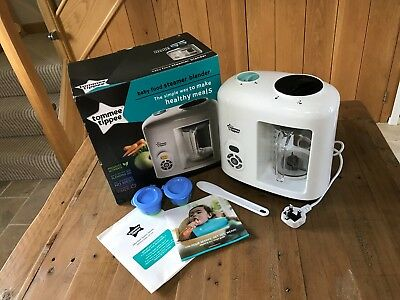 Tommee Tippee Baby Food Steamer Blender Excellent Condition