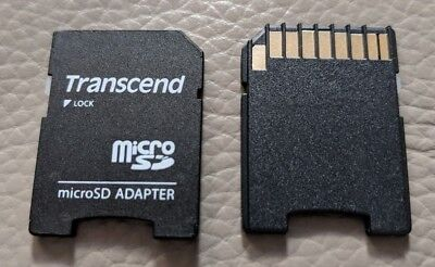 2X Micro Sd Sdhc Memory Card Adaptor Adapter Converter To Standard Sd Free Post