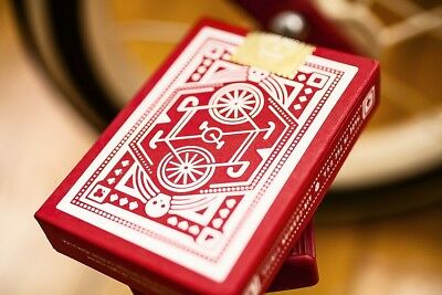 Red & Blue Wheel Playing Cards by DKNG and Art Of Play / CARDISTRY