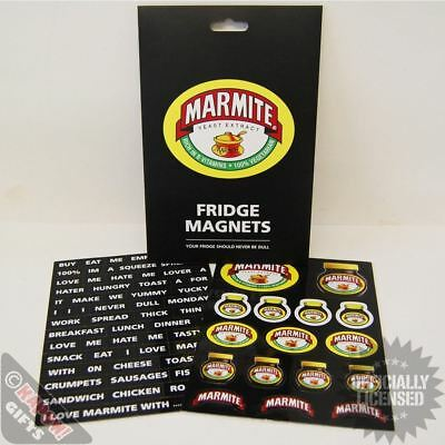 70 x Iconic Retro Marmite Love it or loathe it Fridge Logo Magnets