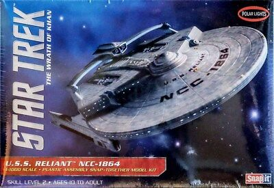 Star Trek U.S.S. Reliant NCC-1864 USS 1:1000 Bausatz Polar Lights POL906