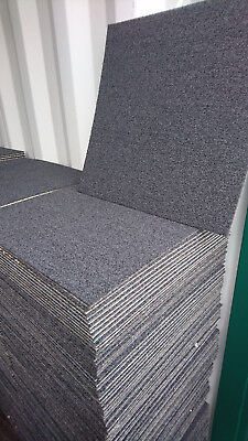 DARK GREY MINT C CARPET TILES Acoustic Foam Backing 10.000stock delivery availab