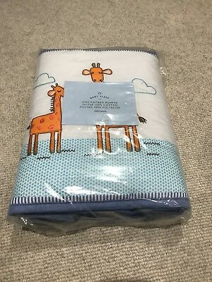 Noah's Ark Cot And Cotbed Bumper By John Lewis BNWT