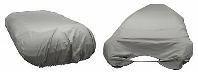 Newport Vessels UV Resistant Inflatable Dinghy Boat Cover, Grey, 12-13-Feet