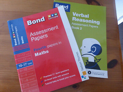 11+ Bond assessment papers 2 books
