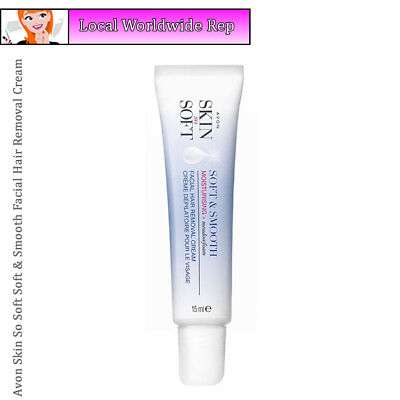 Avon Skin So Soft Soft & Smooth Facial Hair Removal Cream