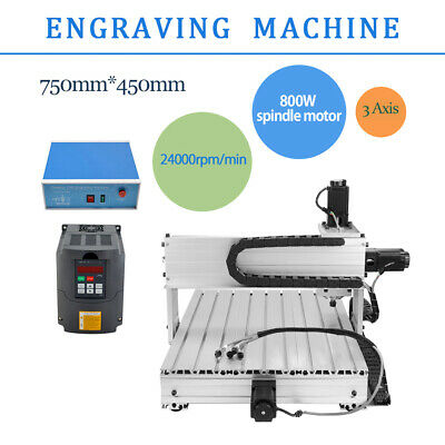 New 6040 3 Axis Desktop CNC Router Engraver Milling Machine Engraving Drilling
