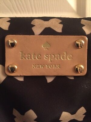 kate spade diaper bag with bow design