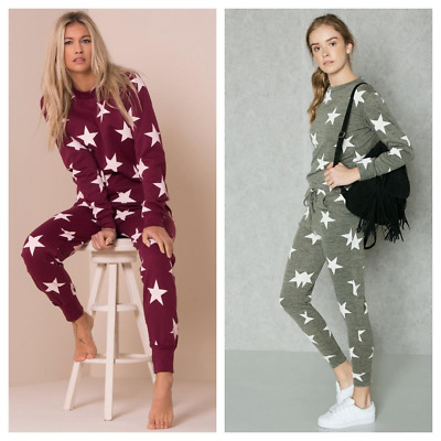 River Island Tracksuit Lounge Wear Outfit Top Joggers Set Bnwot Size S Small 8 Tracksuits & Sets Women's Clothing