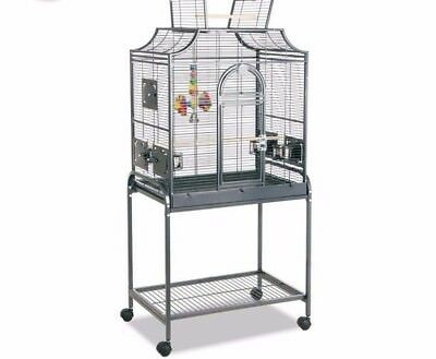 Bird Parrot Cage Large with Stand 4 Feeders Birds Canary Finch Cocktail Parakeet