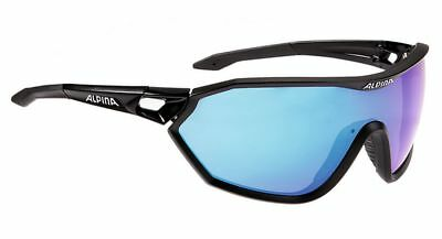 Alpina S-WAY CM+ Sportbrille - black matt