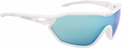 Alpina S-WAY CM+ Sportbrille - white matt