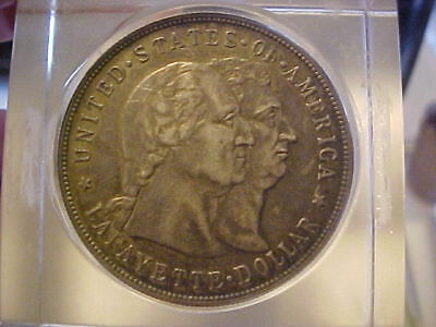1900 Commorative Lafayette Silver Dollar Very Nice