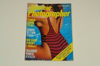3 Amateur Photographer Magazines From The 1980s