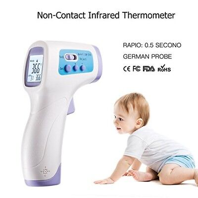 Professional Clinical Medical Infrared Digital Thermometer With Voice Broadcast