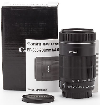 Canon EF-S 55-250mm 4-5,6 IS STM Zoom  SHP53596
