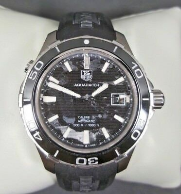 Tag Heuer Aquaracer Automatic Men's Watch for Parts or Repair WAK2110.FT6027