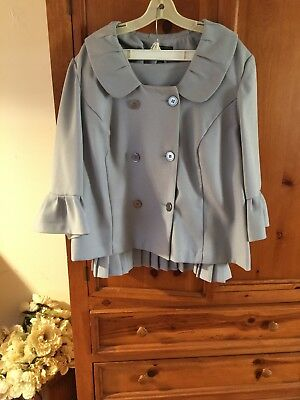 Sweet Suit size 22 plus size women's. Gray