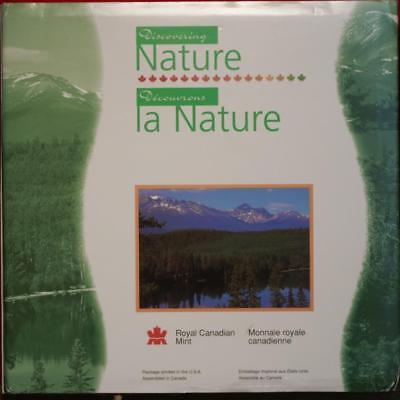 Uncirculated 1996 Canada Discovering Nature Coin Set