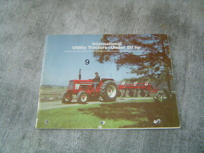 IH International 674 574 464 454 844-s utility tractor brochure
