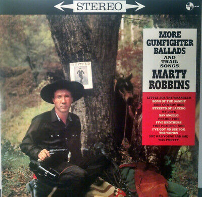 Marty Robbins More Gunfighter Ballads And Trail Songs 180gm vinyl LP NEW/SEALED