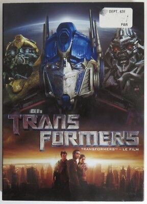 Transformers Dvd  -  Previously Viewed            (Inv17672)